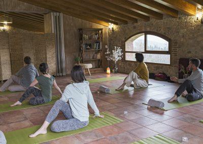 ioga o retiro yoga